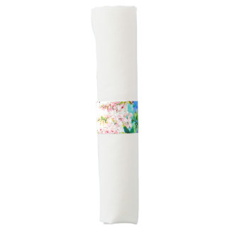 Hummingbirds and Flowers Napkin Band
