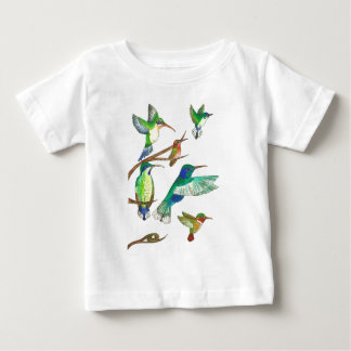 Hummingbirds Baby T-Shirt
