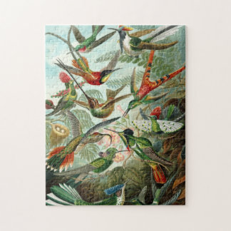 Hummingbirds by Ernst Haeckel Jigsaw Puzzle