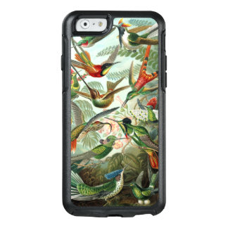 Hummingbirds by Ernst Haeckel, Vintage Birds Trees OtterBox iPhone 6/6s Case