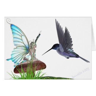 Hummingbirds Card