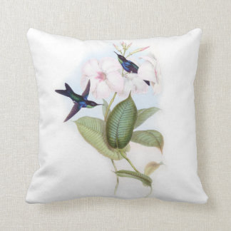 Hummingbirds cushion