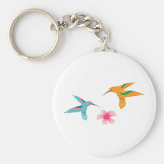 Hummingbirds Key Ring