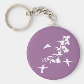 Hummingbirds  Keychain
