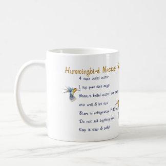Hummingbirds Nectar Recipe Coffee Mug