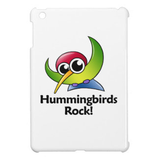 Hummingbirds Rock! iPad Mini Cover