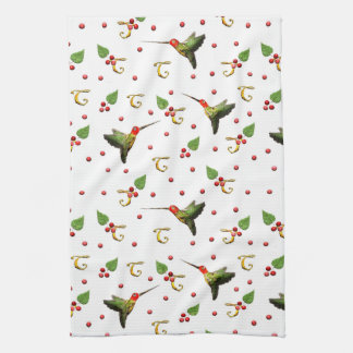 Hummingbirds Tea Towel