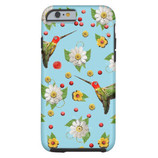 hummingbirds tough iPhone 6 case