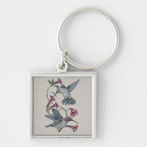 Hummingbirds & Vine Key Chains