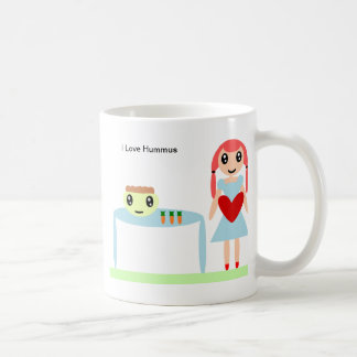 "Hummus Love ""I love hummus"" Coffee Mug"