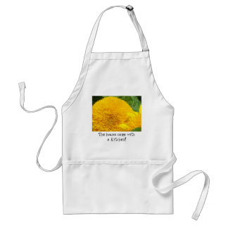 Humor aprons House came with a kitchen Sunflowers