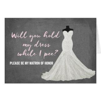 Humor Bride | Bridesmaid Note Card