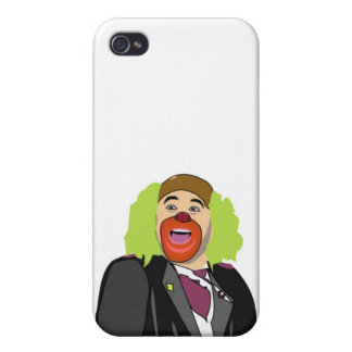 Humor:  Clowns iPhone 4/4S Cases