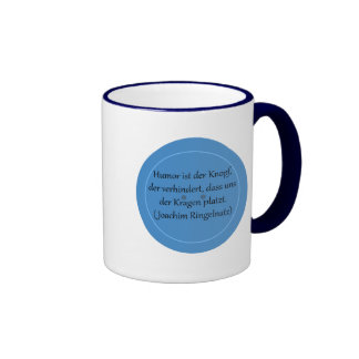 Humor is prevented the button,… coffee mug