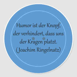 Humor is prevented the button,… stickers