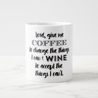Humor Mug - Give Me Coffee And Wine