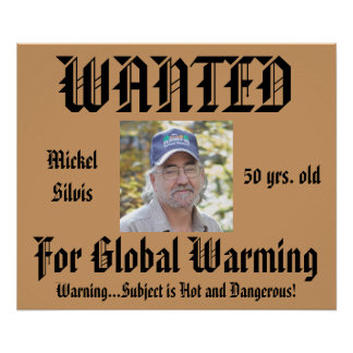Humor Personalized Wanted Poster