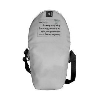 Humor rules.... commuter bag