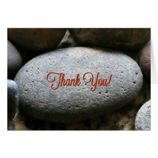 Humorous and Funny You Rock Thank You Card