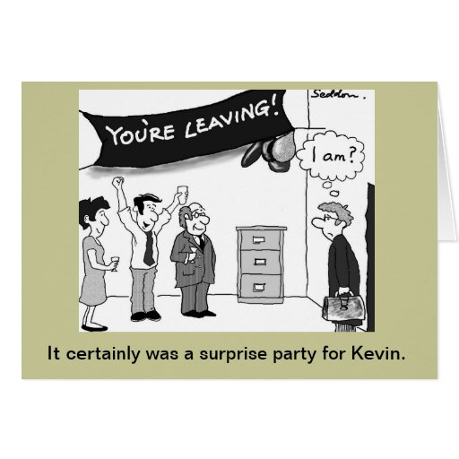 Humorous and original cartoon by Mike Seddon. Card