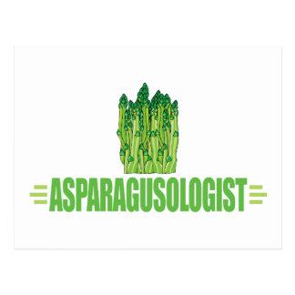 Humorous Asparagus Lover Postcard
