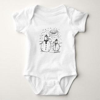 Humorous baby gro baby bodysuit