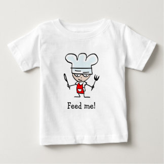 Humorous baby shirt with funny slogan - saying
