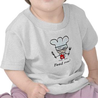 Humorous baby shirt with funny slogan - saying