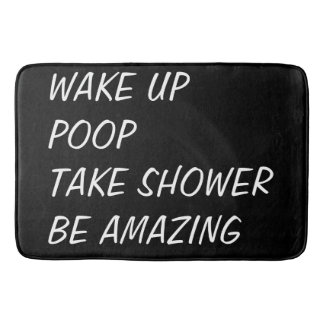 Humorous Bath Mat