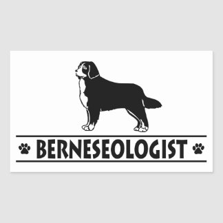Humorous Bernese Mountain Dog Stickers