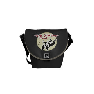 Humorous Boston Terrier - Nonsporting Breed Commuter Bags