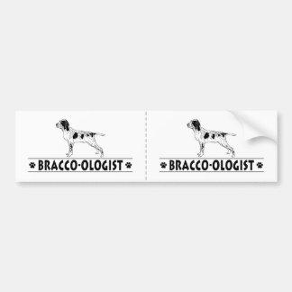 Humorous Bracco Italiano Bumper Sticker