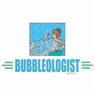 Humorous Bubble Bath Standing Photo Sculpture