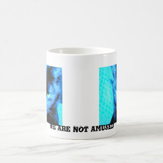 Humorous Cat Mug: we are not amused Basic White Mug