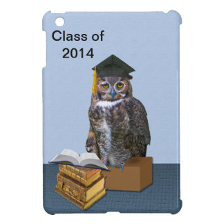 Humorous Class of 2014 Graduation Owl Cover For The iPad Mini