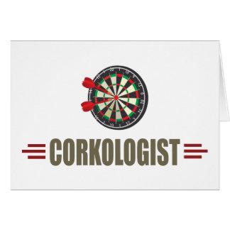 Humorous Darts Card