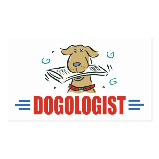 Humorous Dog Lovers Business Card