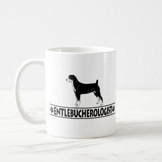 Humorous Entlebucher Classic White Coffee Mug