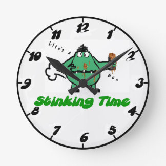 Humorous Farting Clock