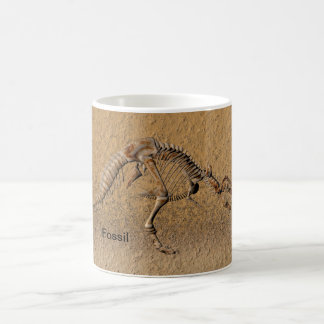 Humorous fossil mug