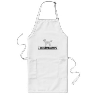 Humorous Goldendoodle Aprons