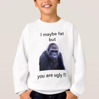 humorous gorilla products sweatshirt