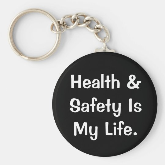 Humorous Health and Safety Quote Basic Round Button