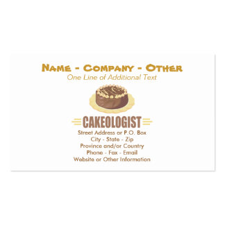 Humorous Ice Cream Sundaes Pack Of Standard Business Cards
