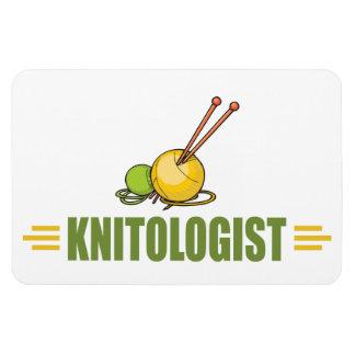 Humorous Knitting Magnet