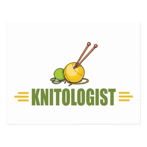 Humorous Knitting Postcards
