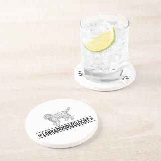 Humorous Labradoodle Drink Coasters