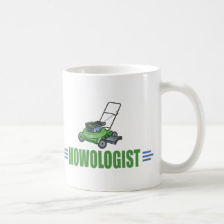 Humorous Lawn Mowing Coffee Mugs