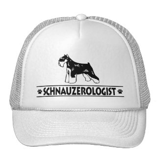 Humorous Miniature Schnauzer Trucker Hat