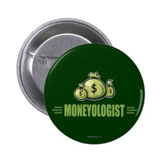 Humorous Money 6 Cm Round Badge